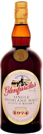Glenfarclas Scotch Single Malt The Family Casks 1974 Cask 5786 Sherry Butt